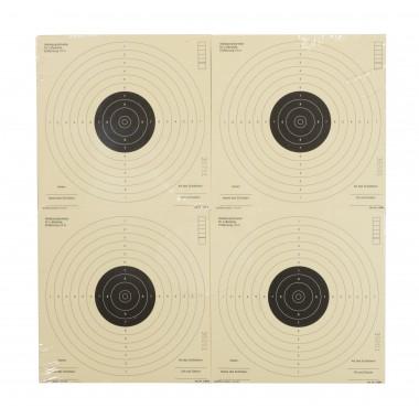 Cibles papier 17x17, par 1000