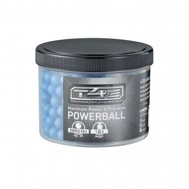Powerballs, caoutchouc bleu
